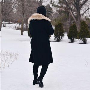 Zara Jackets & Coats - Zara Fur Hood Coat